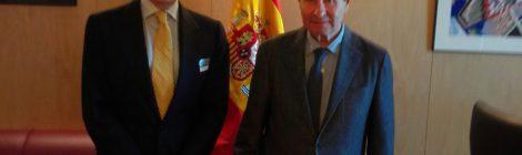 LA ONC TRASLADA AL PRESIDENTE DE LA COMISIÓN DE AGRICULTURA Y MEDIO AMBIENTE DEL CONGRESO LAS PRIORIDADES DEL SECTOR CINEGÉTICO