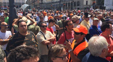 La concentración de Madrid, en imágenes