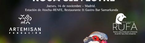 Madrid acogerá el 16 de noviembre la primera jornada sobre Perdiz Roja Silvestre organizada por la Fundación Artemisan